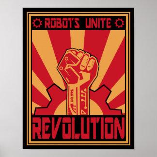 Robotuppror Poster