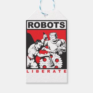 Robotuppsättningar dig fritt presentetikett