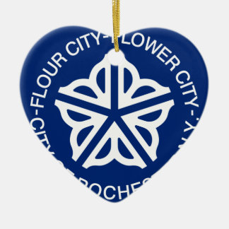 Rochester New York, United States Julgransprydnad Keramik