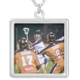 ROCHESTER NY - AUGUSTI 06: Jeff Reynolds #21 Silverpläterat Halsband