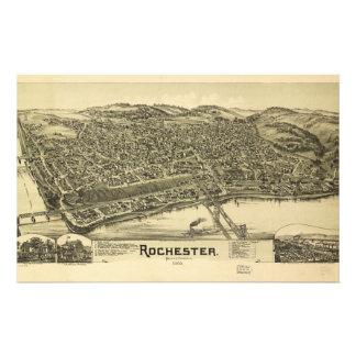 Rochester Pennsylvania (1900) Brevpapper