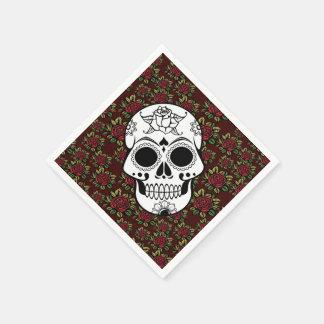 Rockabilly pappra servetter för Retro roskalle