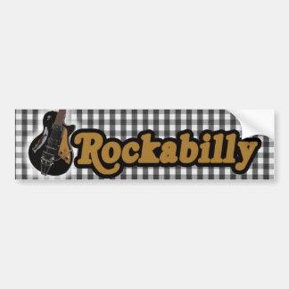 Rockabilly stil bildekal
