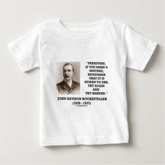 Rockefeller framhärdar det är människan som igen tee shirts