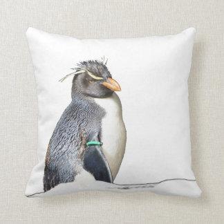 Rockhopper pingvindekorativ kudde