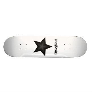 ROCKSTAR! skridskon stiger ombord Skateboard Bräda 21,5 Cm