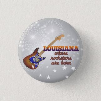 Rockstars är bördiga Louisiana Mini Knapp Rund 3.2 Cm
