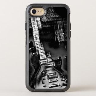 Rockstjärna som en abstrakt elektrisk gitarr OtterBox symmetry iPhone 7 skal