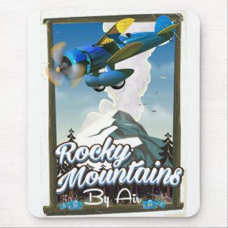 Rocky mountains vid luft! musmatta