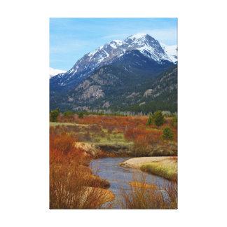 Rocky mountainskanvastryck canvastryck