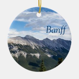 Rocky mountainsprydnad - Banff Julgransprydnad Keramik