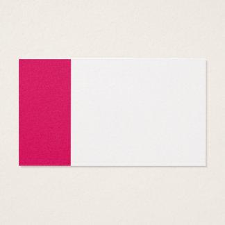 Röd affär för platina och för Ruby Visitkort