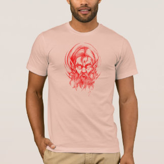 Röd älva tee shirt