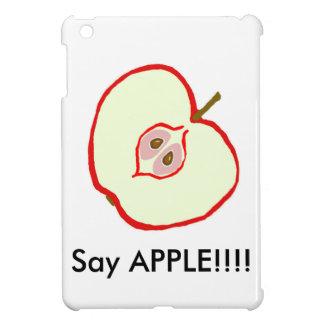 Röd Apple för dräkt produkt iPad Mini Mobil Fodral