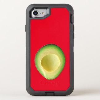 Röd avokadokärlek 4Linda OtterBox Defender iPhone 7 Skal
