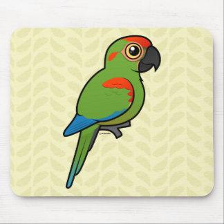 Röd-beklädd Macaw Musmatta