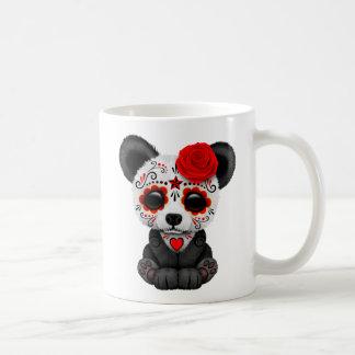 Röd björn för Panda för day of the Kaffemugg