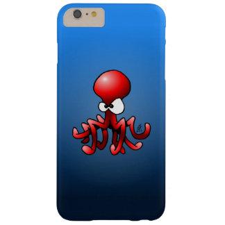 Röd bläckfisk barely there iPhone 6 plus skal