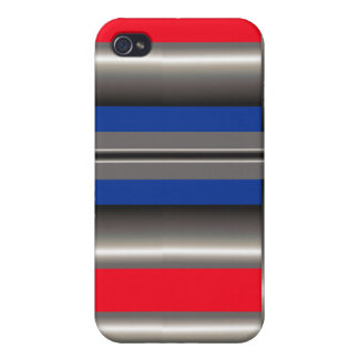 Röd blåttvit iPhone 4 skal