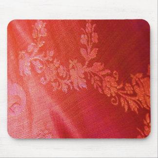 Röd blom- elegans Mousepad - anpassade Mus Matta