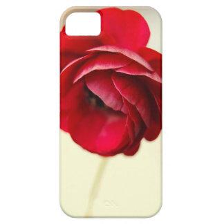 Röd blommaiphone case iPhone 5 Case-Mate fodral