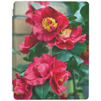 Röd Camellia iPad Skydd
