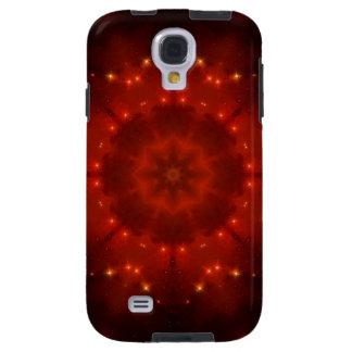 Röd dvärg- Mandala Galaxy S4 Fodral