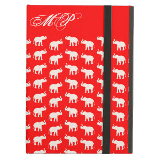 Röd elefant iPad air fodral