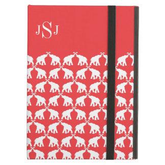 Röd elefant iPad air skydd