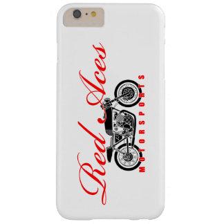 Röd essMotorsports, vintagemotorcykeliphone Barely There iPhone 6 Plus Skal