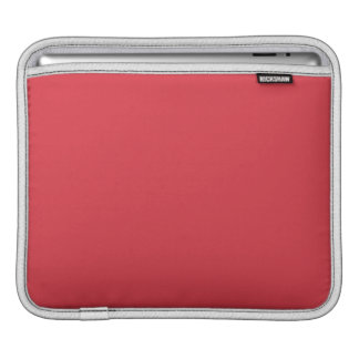 Röd fast vallmo iPad sleeve