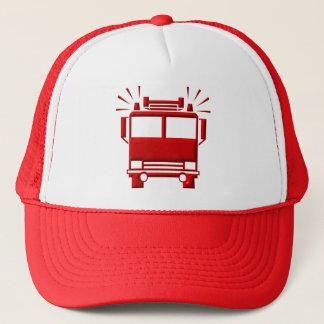 Röd Firetruck Keps
