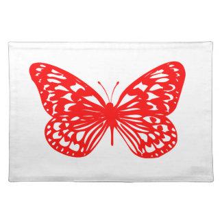 Röd fjäril bordstablett