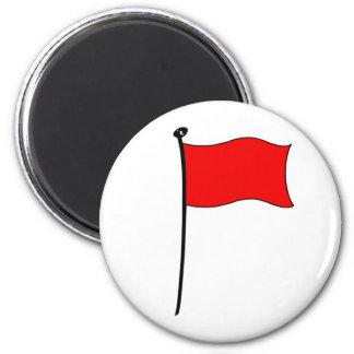 Röd flagga: magneter