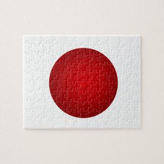 Röd golfboll pussel
