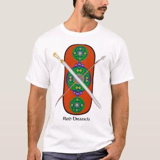 Röd gren - skjortan beklär design tee shirts