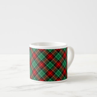 Röd grön Retro mugg för espresso för Espressomugg