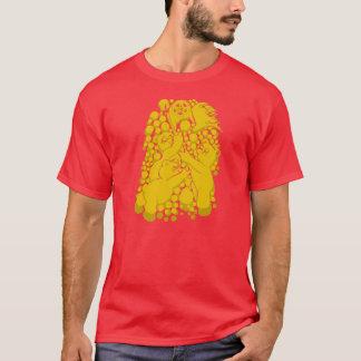 Röd gryning t-shirts