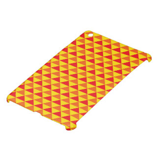 Röd/gult skraj Retro design - iPad Mini Skydd