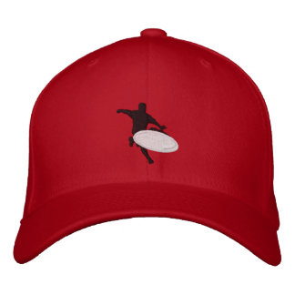 röd hatt broderad keps
