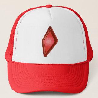 """Röd hatt för Timothy Magellan """"kunskapsRacer"""" Truckerkeps"""