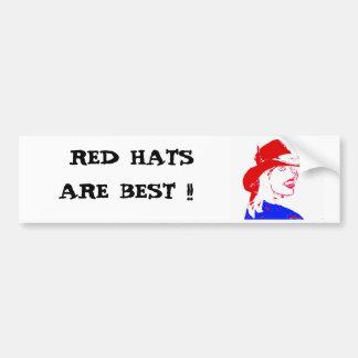 Röd hattCowgirl Bildekal