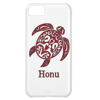 Röd hawaiansk havssköldpadda på vit iPhone 5C fodral