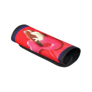 röd hjärta-tailed sjöjungfru handtagsskydd