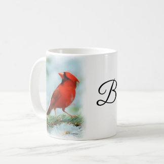Röd huvudsaklig tryckpersonlig kaffemugg