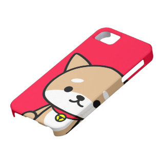 röd iphone case - valp - iPhone 5 skydd