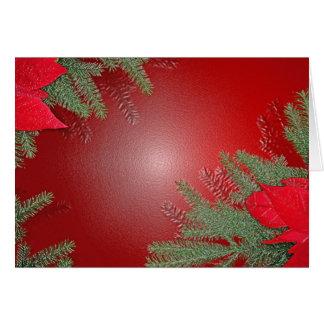 Röd juljulstjärna