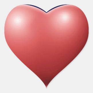 Klistermärken med Hjärtan