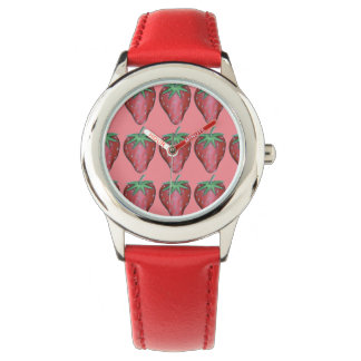 Röd klocka för frukt för jordgubbejordgubbebär