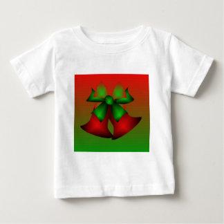 Röd Klockor för jul T-tröja - anpassade T Shirts